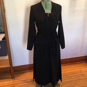Billy Reid Black Versatile Dress/Duster.